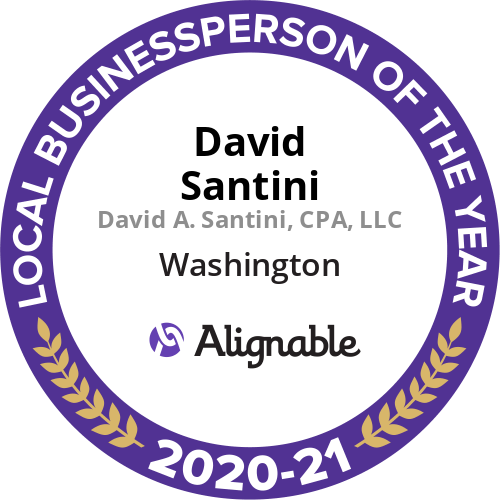 business person of the year dave santini